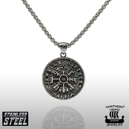 Northern Viking Vegvisir Kaulakoru